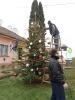 Karácsonyfa állítás és díszités 2011_12